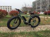 4.0インチ48V 500W高速山の電気自転車大きい力の脂肪質のタイヤのバイク