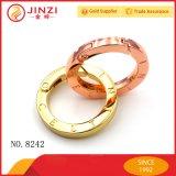 Joint circulaire de ressort de logo de Cutomize/boucle ressort en métal avec le Diriger-Prix d'usine