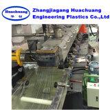 Granulador plástico do animal de estimação gêmeo paralelo do parafuso com cortador dos macarronetes