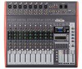 Kanal-Digital angeschaltene mischende Audiokonsole des Fachmann-10 mit SMT Technologie