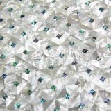 Shell de la fregona del labio y azulejo de mosaico blancos del shell del olmo