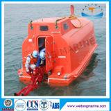 Canoa de salvação totalmente incluida marinha de Dnv FRP