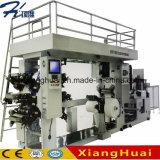 Máquina de impressão automática de Flexo de 6 cores para o papel do guardanapo
