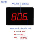 Ce service sans fil 433.92approuvé MHz Bell Restaurant Système d'appel