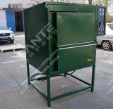fornace dell'alloggiamento della fibra di ceramica dell'allumina 1200c per il riscaldamento del metallo della fabbrica