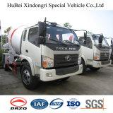 4cbm Foton Forland 4X2 Camião betoneira