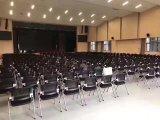 Chaise de conférence pour bureau de design empilable en conférence