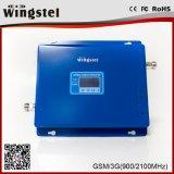 GSM/WCDMA 900/2100MHz 2g 3G Mobile 4G Amplificateur de signal avec antenne Log-Periodic