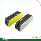 Software do escritor do leitor de cartão magnético do USB do escritor Msrx6 do leitor de cartão de Hico, máquina do furto do cartão