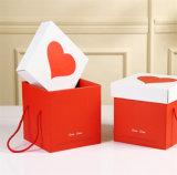 Boîte cadeau en carton avec couvercle à charnière Emballage