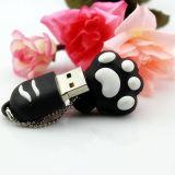 Cartoon PVC Cute 8g 16g Cat Paw USB Flash Disk