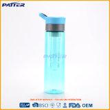 Botella de agua (tritan) plástica clara azul clara vendedora superior