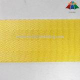 درجة علبيّة 1.5 بوصة صفراء نيلون [ست بلت] شريط منسوج