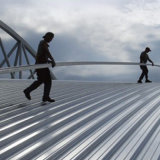 Materiales de Construcción Verde de aluminio magnesio y manganeso, paneles de techos de metal