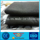 Saco tecido PP preto 60cmx60cm do geotêxtil