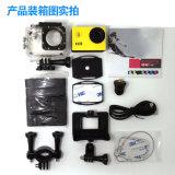 HD Sport Action Camera Helmet Cam para carro, bicicleta mergulho impermeável