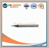 De carburo de tungsteno sólido molinos de extremo cuadrado 2 Flautas