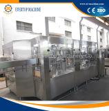 Bouteille d'eau gazeuse Ligne de production de machines de remplissage