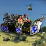 La más increíble experiencia de Realidad Virtual infantil 6 Sillas 9D simulador de carreras de disparo del depósito de Vr Amusement Arcade Game Machine
