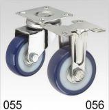 Plate-forme pivotante en PVC bleu