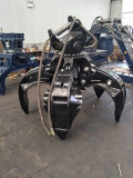 Excavateur Grappin De Peel D'Orange Hydraulique Sans Rotator