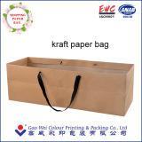 Bolsa de papel de encargo de la alta calidad de las ventas al por mayor