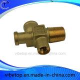 高精度の黄銅CNCの機械化の部品