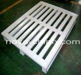Four-Direction Palete de aço plana para uma pilha de paletes de suporte