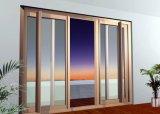 De Schuifdeur van het Aluminium van het Ontwerp van het Handvat van het Glas van de vorst