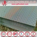 Folha Checkered galvanizada laminada a alta temperatura do preço de fábrica