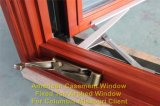 Aluminio madera Casement Window