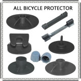 Beschermer van het Karton van de Verpakking van de Fiets van de Beschermer van het Frame van de Vork van de Beschermer van de Hub van de As van de fiets de Plastic