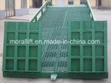 Móveis baratos hidráulico rampa da plataforma no pátio com marcação CE