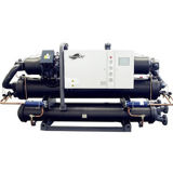 O sistema de refrigeração do refrigerador de água industrial de produtos hortícolas