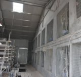 Camada de grande capacidade de gaiola de frango com a fábrica