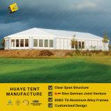 Белые крышка & алюминий крыши PVC шатер рамки с стеклянными стенами (HAF 20M)