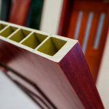 Meilleure vente de l'intérieur poche étanche prix bon marché WPC porte en bois
