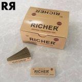 Kundenspezifische Marken-ungebleichter/weißer Filter-rauchende Zigaretten-Walzen-Filter-Spitzen