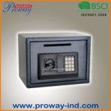 Caixa segura eletrônica da gota do dinheiro da caixa