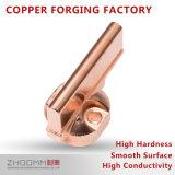 El procesamiento de la forja de la barra de cobre profesional