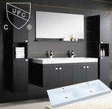 Cupcの浴室用キャビネットの顔手は二重流しSn1538-120の倍を洗浄する