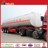 3axles Chemische Tank van de Aanhangwagen van de tanker de Semi voor Vervoer van het Zwavelachtige/Hydrochloric Zuur
