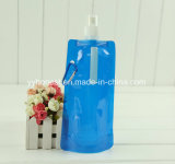 Beber água Desporto Dobrável reutilizáveis garrafa de água portátil