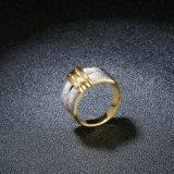 De zilveren Levering voor doorverkoop van de Fabriek van de Ring van de Vinger van de Band van de Kleur Shinning