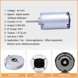 micro mini motore elettrico di CC della spazzola di 12V 24V 3650rpm