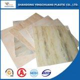 Placa de cor de PVC para Morden Armário de loiça sanitária de plástico
