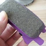 Rilievo di freno semimetallico della parte posteriore del materiale di ceramica per Lexus Rxlexus Rx330 Rx350 Rx400h