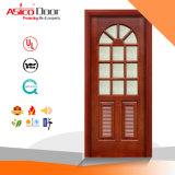Porta de madeira exterior/porta de madeira sólida/porta de entrada da porta de madeira maciça