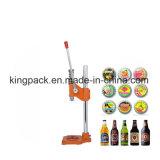 Capsulador manual da cerveja da coroa/máquina tampando da cerveja frasco de vidro