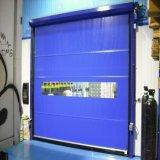 저온 저장 응용 (HF-J305)를 위한 산업 전기 PVC 빠른 롤러 셔터 문